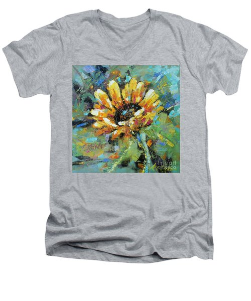 Sunflowers II Men's V-Neck T-Shirt