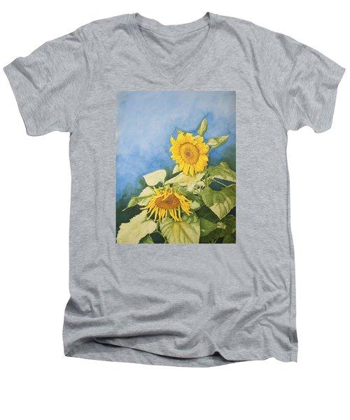 Sunflowers Men's V-Neck T-Shirt