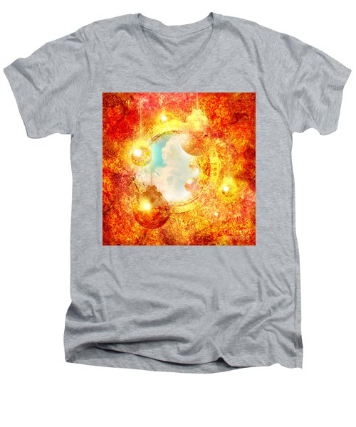 Sungate Men's V-Neck T-Shirt