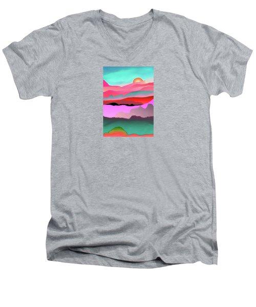 Sunland 3 Men's V-Neck T-Shirt