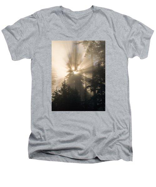 Sunlight And Fog Men's V-Neck T-Shirt