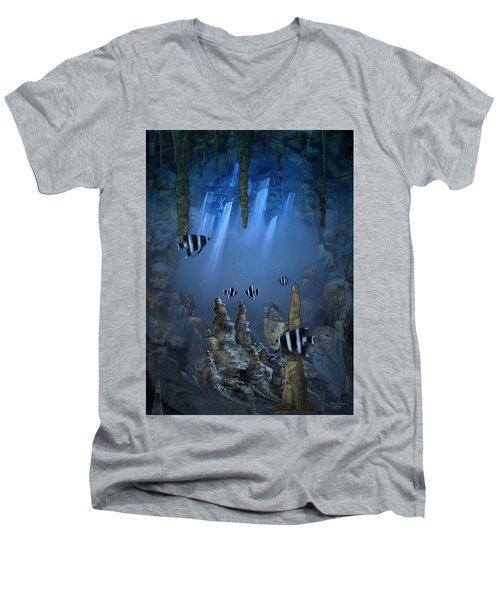 Sunlight From Above Men's V-Neck T-Shirt