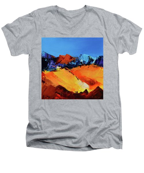 Sunlight In The Valley Men's V-Neck T-Shirt