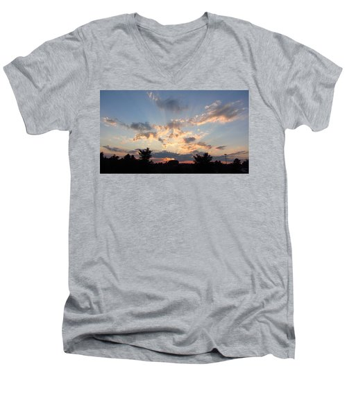 Sunlight Inspiration Men's V-Neck T-Shirt