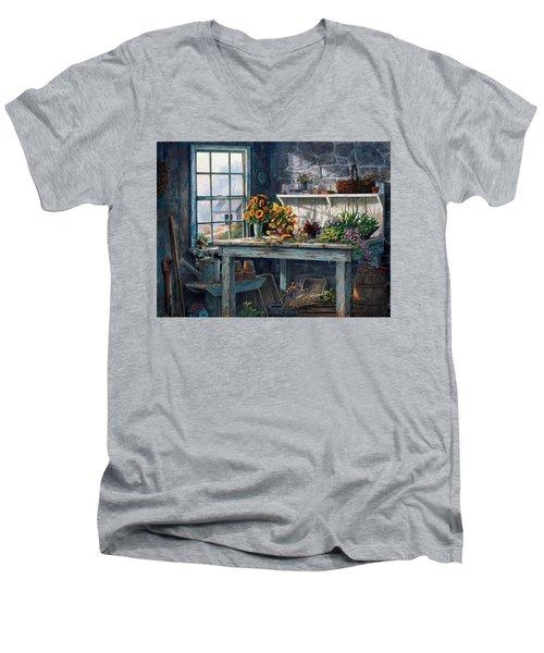 Sunlight Suite Men's V-Neck T-Shirt
