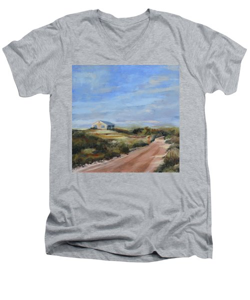 Sunlight's Coming Men's V-Neck T-Shirt by Trina Teele