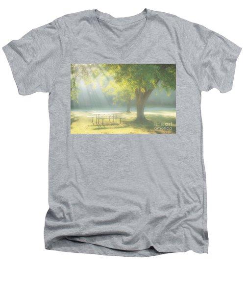 Sunlit Morning Men's V-Neck T-Shirt