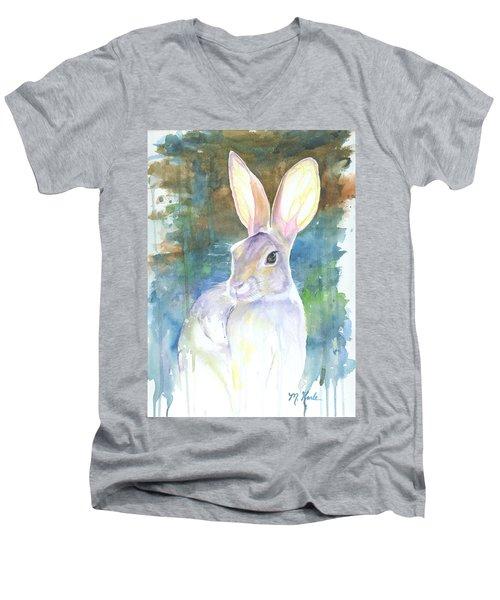 Sunny Bunny Men's V-Neck T-Shirt