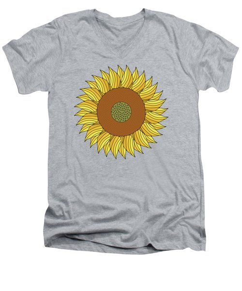 Sunny Day Men's V-Neck T-Shirt by Absentis Designs