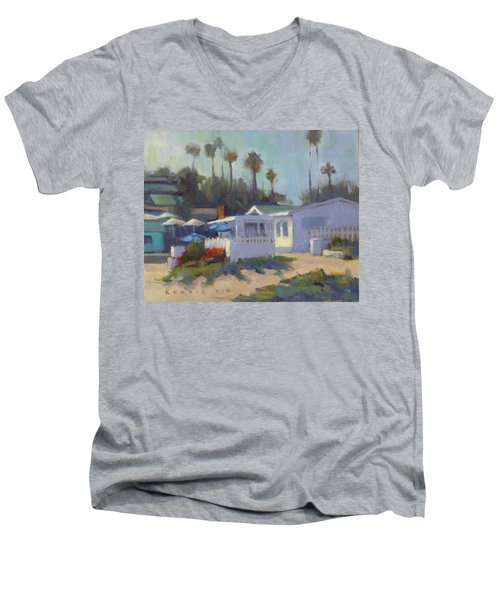Sunny Day At Crystal Cove Men's V-Neck T-Shirt