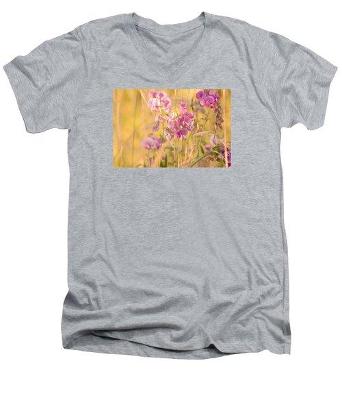 Sunny Garden 3 Men's V-Neck T-Shirt