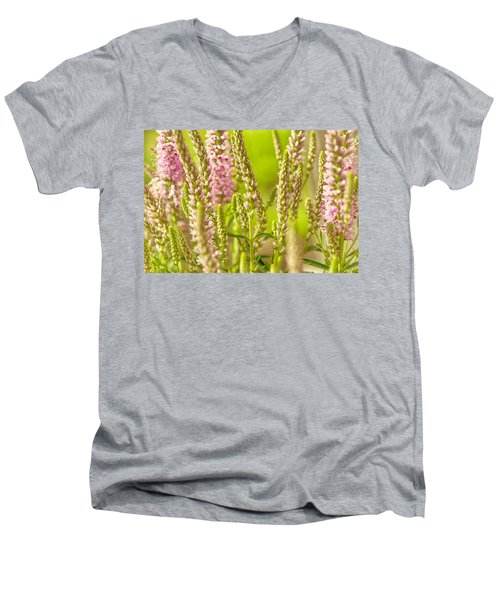 Sunny Lupine Men's V-Neck T-Shirt