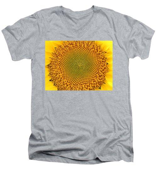 Sunny Swirl Men's V-Neck T-Shirt