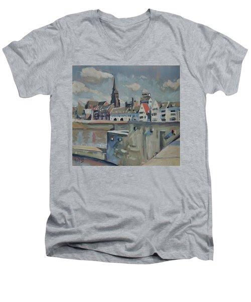 Sunny Wyck Maastricht Men's V-Neck T-Shirt