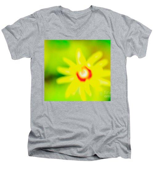 Sunnyday Men's V-Neck T-Shirt by Kim Henderson