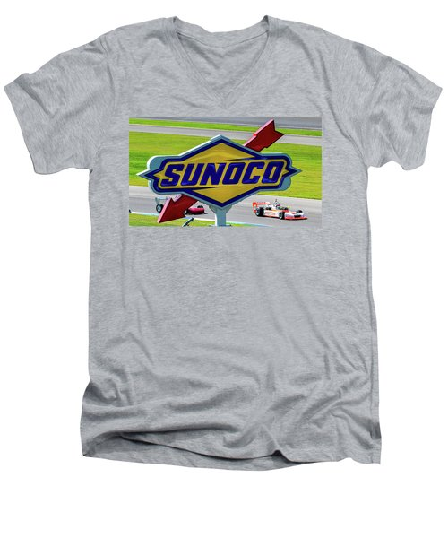 Sunoco Men's V-Neck T-Shirt