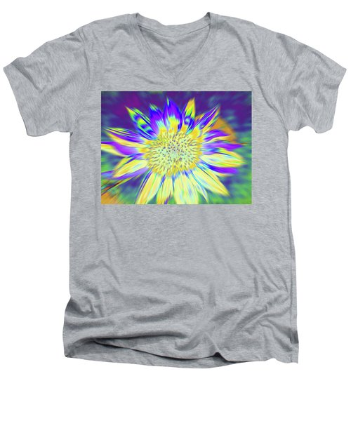 Sunpopped Men's V-Neck T-Shirt