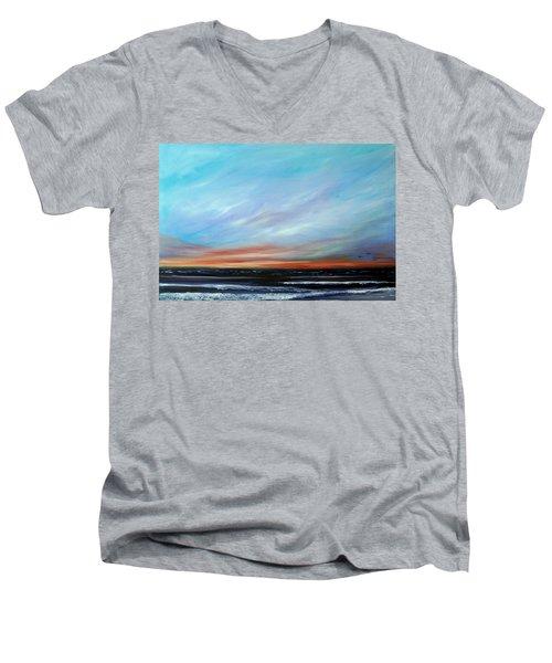 Sunrise And The Morning Star Eastern Shore Men's V-Neck T-Shirt