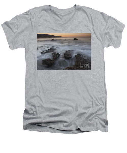 Sunrise At Laguna Beach II Men's V-Neck T-Shirt