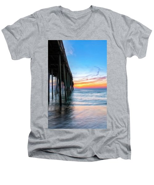 Sunrise Blessing Men's V-Neck T-Shirt
