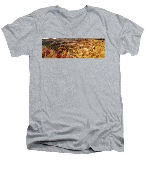 Sunrise Bryce Canyon Men's V-Neck T-Shirt