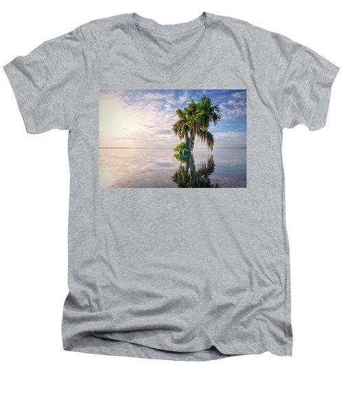 Sunrise Dip Men's V-Neck T-Shirt