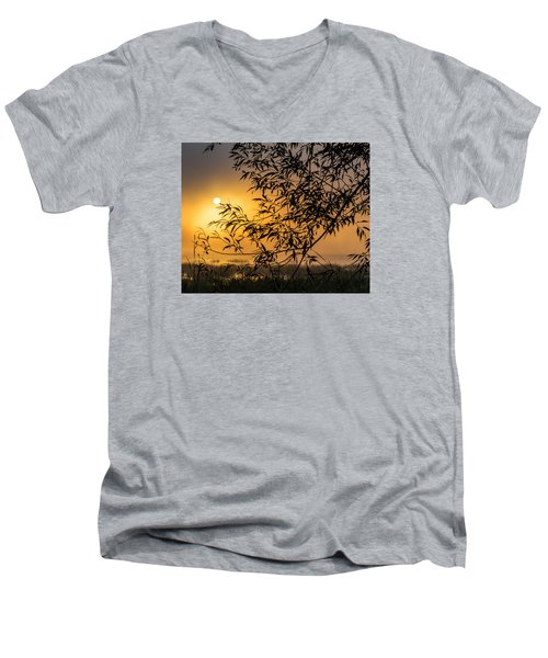 Sunrise Fog Men's V-Neck T-Shirt