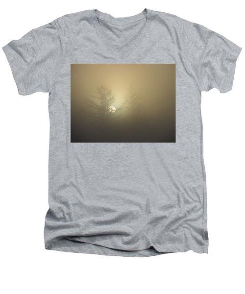 Sunrise Fogged - 1 Men's V-Neck T-Shirt