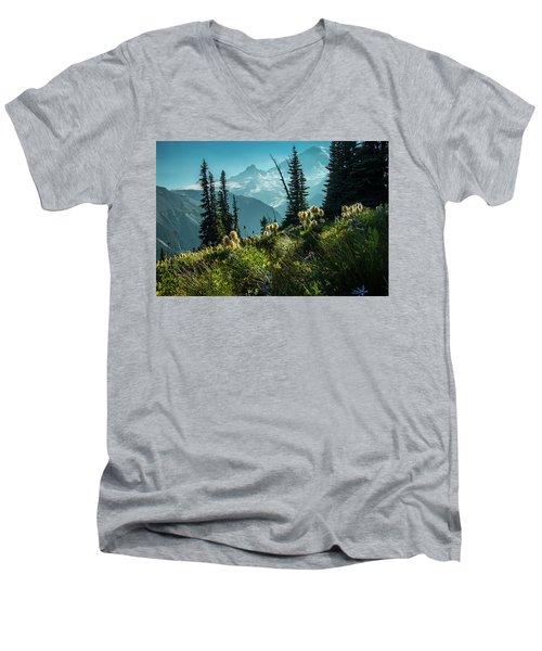 Sunrise Heaven Men's V-Neck T-Shirt