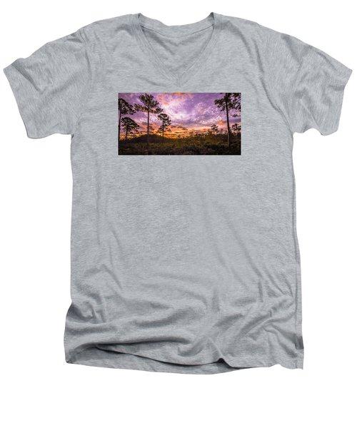 Sunrise In Jd Men's V-Neck T-Shirt