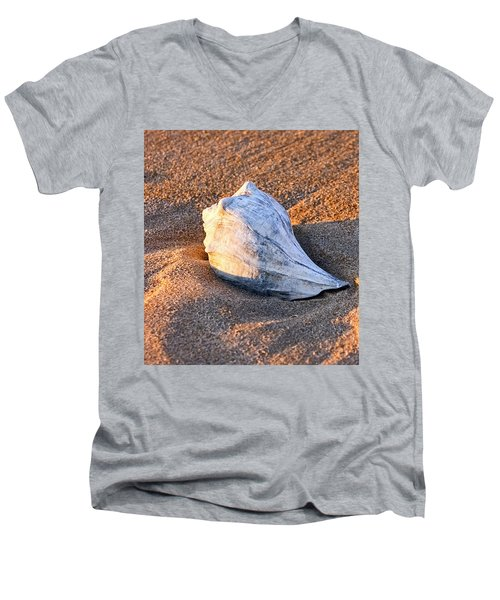 Sunrise Seashell Men's V-Neck T-Shirt