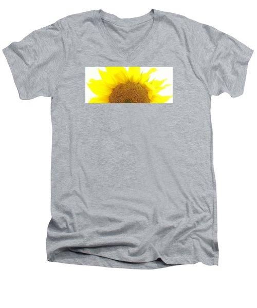 Sunflower Sunrise Men's V-Neck T-Shirt