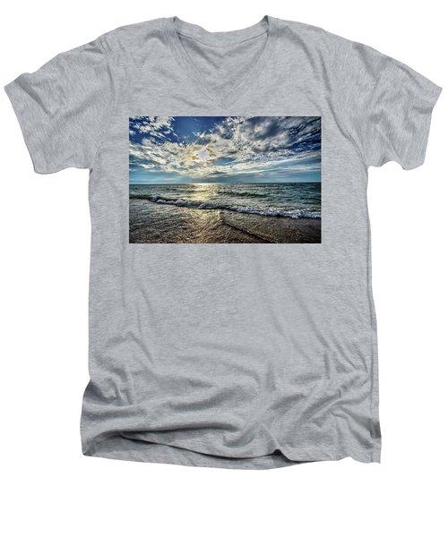 Sunset 32 Men's V-Neck T-Shirt