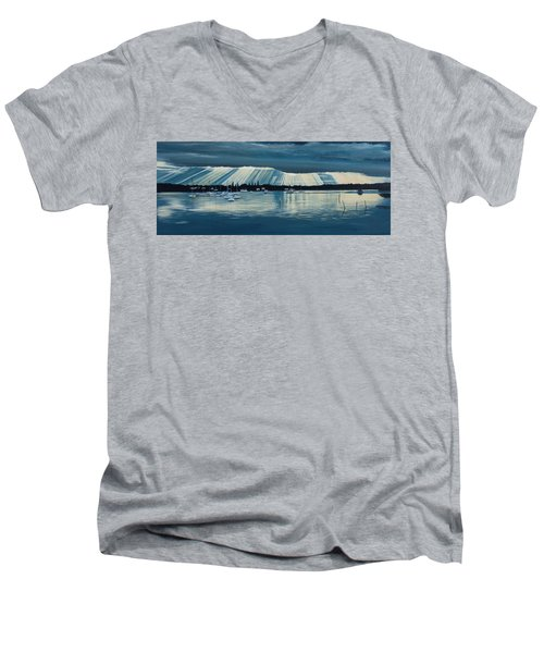 Sunset At Yamba Nsw Men's V-Neck T-Shirt