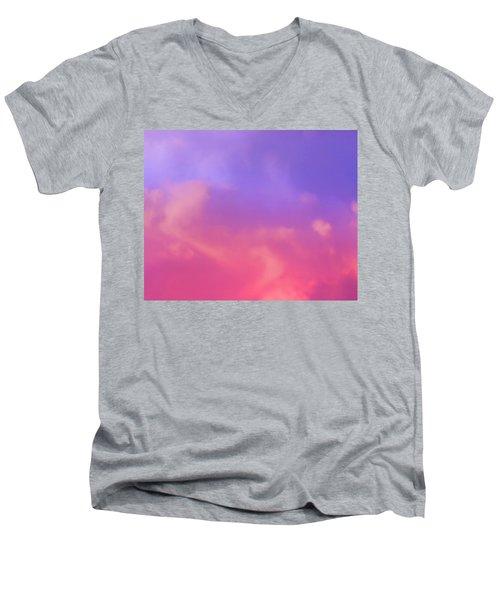 Sunset Clouds Men's V-Neck T-Shirt