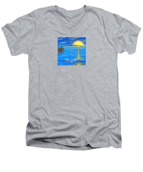 Sunset Dream Men's V-Neck T-Shirt