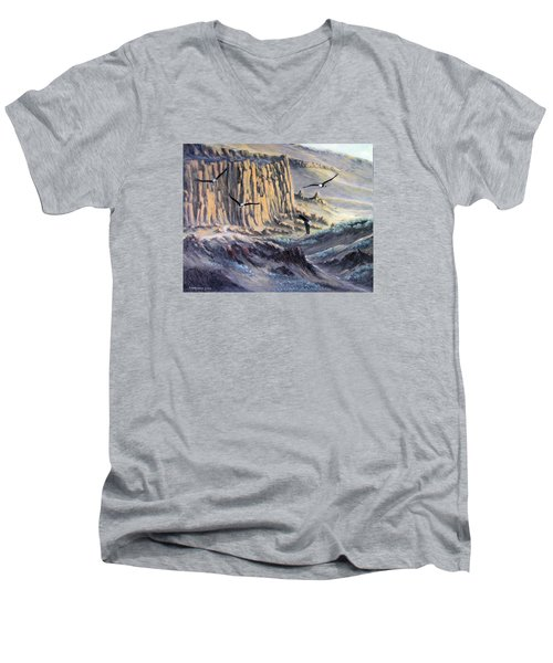 Sunset Gathering Men's V-Neck T-Shirt