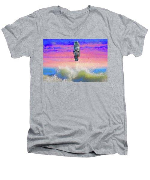 Sunset Jumper Men's V-Neck T-Shirt