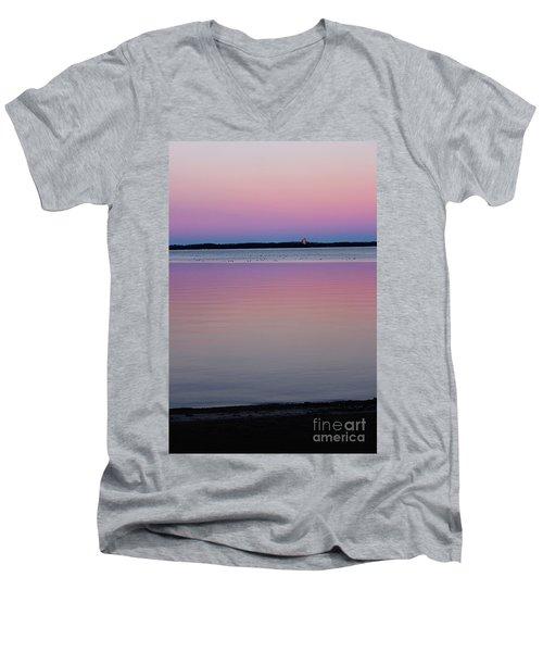 Sunset Magic Men's V-Neck T-Shirt
