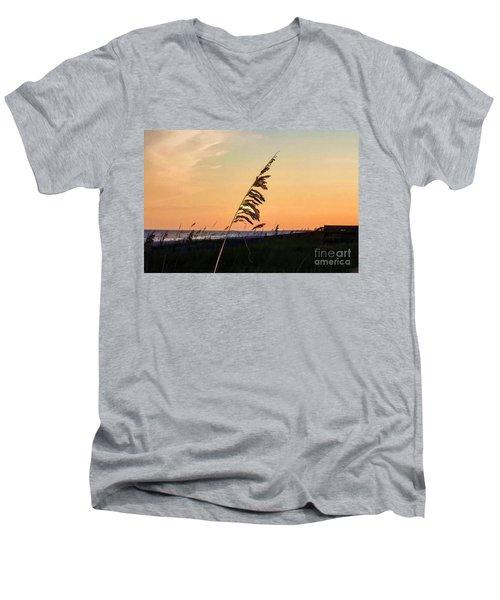 Sunset Memories Men's V-Neck T-Shirt