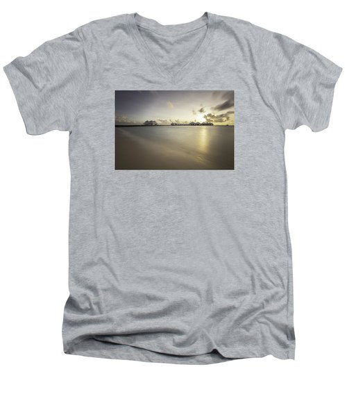 Sunset Paradise Men's V-Neck T-Shirt