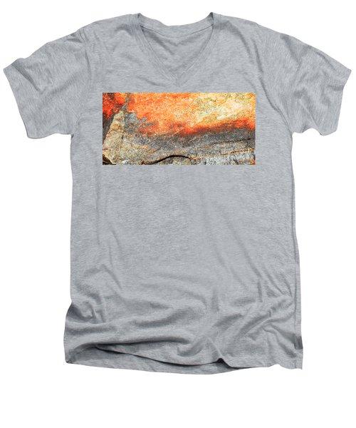 Sunset Rock Scene Men's V-Neck T-Shirt