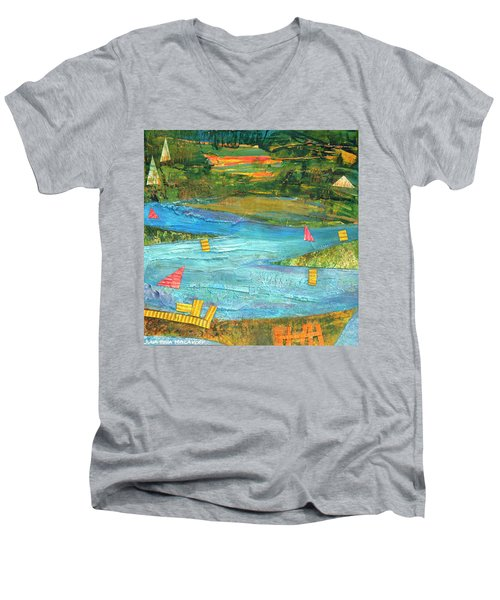Sunset Sails 2 Men's V-Neck T-Shirt