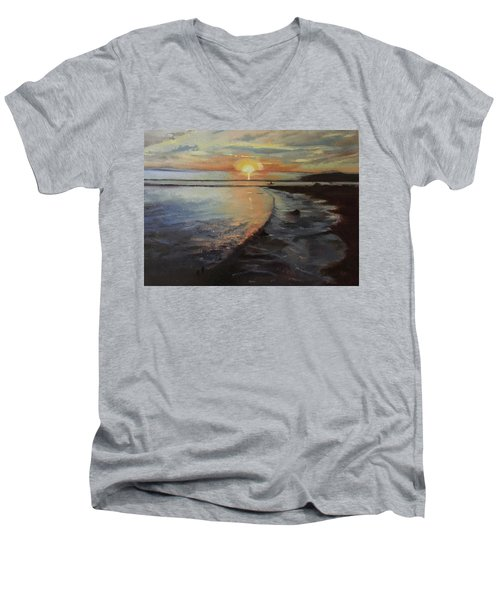 Sunset Sea Men's V-Neck T-Shirt