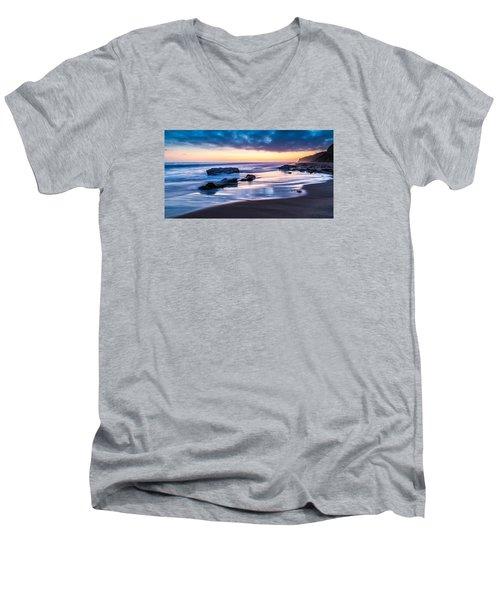 Sunset Shine Men's V-Neck T-Shirt