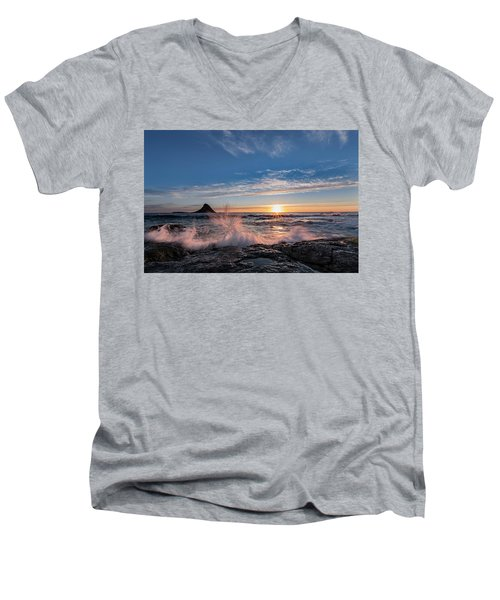 Sunset Splash II Men's V-Neck T-Shirt