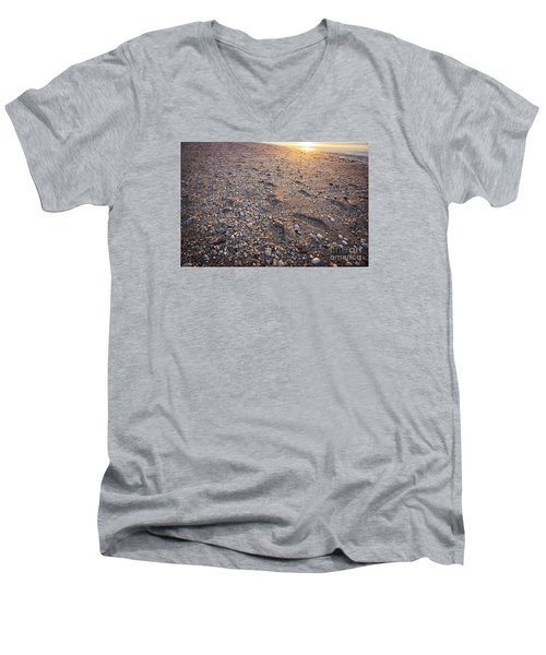 Sunset Step Men's V-Neck T-Shirt