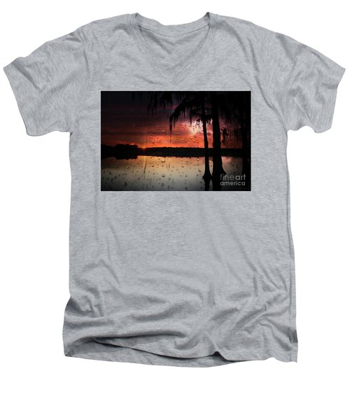 Sunset Storms Men's V-Neck T-Shirt