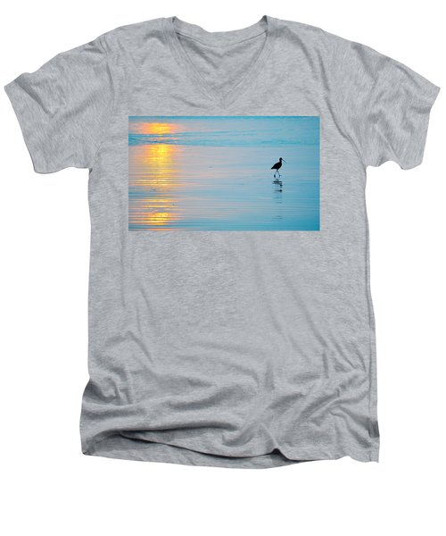 Sunset Stroll Men's V-Neck T-Shirt