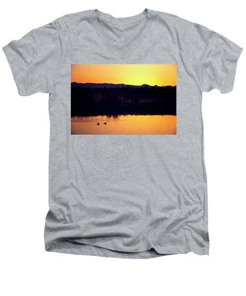 Sunset Swim Men's V-Neck T-Shirt